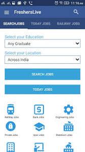resume sles for engineering students fresherslive recruitment govt jobs 2017 sarkari naukri apps on google play