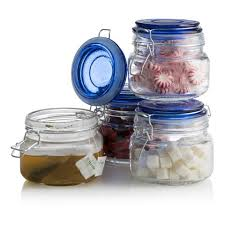 glass kitchen storage canisters square glass kitchen storage canister jars clear food