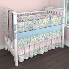 Bedding Sets For Mini Cribs by Crib Bedding Love Birds Creative Ideas Of Baby Cribs