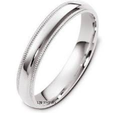 mens wedding rings white gold 14k gold mens wedding bands ebay
