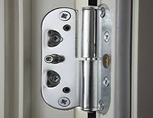 Secure French Doors - composite timber french doors reveal