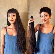 before and after fade haircuts on women 16 hair makeovers that ll make you want to get a haircut