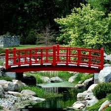 backyard bridges picking the perfect backyard bridges backyard landscape design