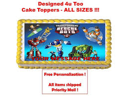 custom edible images 24 best rescue bots images on birthday party ideas