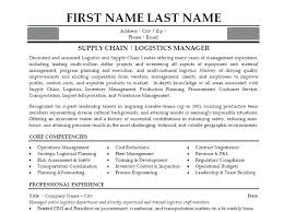 Warehouse Management Resume Resume Logistics Manager Resume Word Format Click Here To