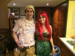 couple costumes for halloween 2014 so my gf dressed up as poison ivy i don u0027t think i understood