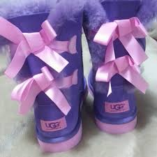ugg boots sale bailey bow ugg bailey bow purple pink ugg boots from inna s closet on poshmark