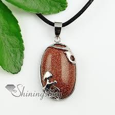 necklace natural stone images Teardrop natural stone rose quartz natural semi precious stone jpg