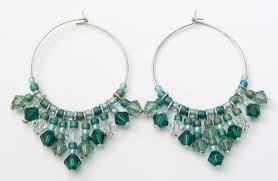 home made earrings hoop earrings