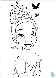 princess frog coloring dinokids org
