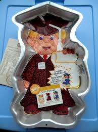 wilton halloween cake pans vintage 1995 wilton graduation cake pan 2105 1800 graduate