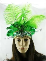 feather headbands lime green flapper feather headbands for ostrich feather