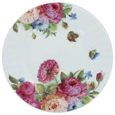 s bone china 7 5in dessert plates set of 4