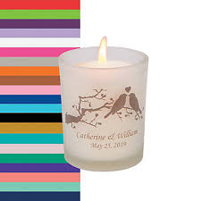 personalize candles personalized birds votive holders