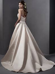simple satin wedding dresses love maggie love maggie
