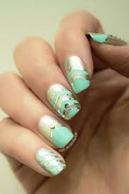 Easter Nail Designs Best 25 Mint Nail Designs Ideas On Pinterest Mint Gel Nails