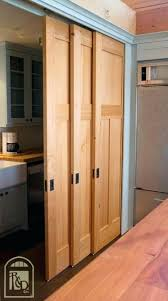 Closet Door Sliding Hanging Closet Doors Sliding Sliding Pantry Door Using Barn