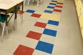 armstrong commercial grade linoleum tile or sheet flooring