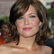 most flattering hairstyles for double chins photo gallery of short hairstyles for fat faces and double chins