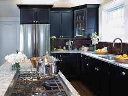 granite countertop which cabinets are best black combination