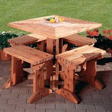 Interesting Octagon Picnic Tables Plans And 7 Best Home by 100 Best Picnic Table Plans Images On Pinterest Garden Picnics