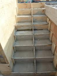treppe betonieren september 2015 die kleine welt und mathias
