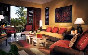 Red And Black Living Room Set Warm Family Room Reds And Browns Warm Living Roomshome Living