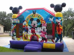 bounce house rentals houston mickey mouse moonwalks rentals bounce house san antonio tx
