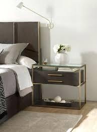 bedroom nightstand ideas bedroom with one nightstand gorgeous use of contrasting nightstands