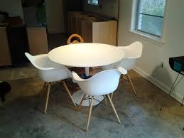 eames shell chairs and knockoffs