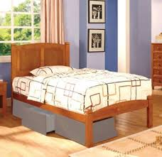 cara cottage oak solid wood twin bed drawer not include kids