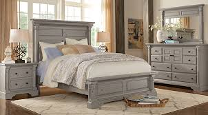 claymore park gray 5 pc queen bedroom queen bedroom sets colors