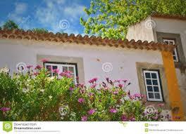 European Houses Old European Houses Stock Photo Image 53551623