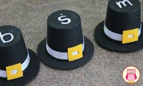 thanksgiving hats k cup pilgrim hats early learning ideas