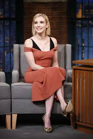 emma roberts emmaroberts appeared on late night with seth meyers