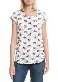 elephant blouse joie joie dillon elephant print casual shirts shop it