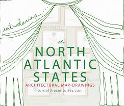 Map States Usa by Turn Of The Centuries The North Atlantic States Usa Map Drawings