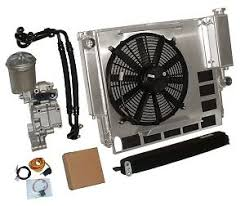 oil cooler fan kit bmw e36 m3 325 328 aluminum radiator oil cooler fan kit ebay