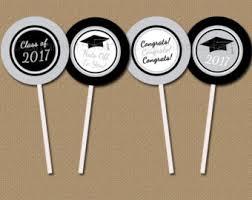 Graduation Decorations Australia Instant Download Graduation Cupcake Toppers Diy Printable