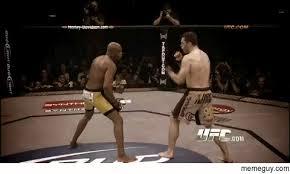 Anderson Silva Meme - ufc fighter anderson silva predicting the future meme guy