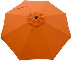Patio Umbrellas San Diego Replacement Canopy For 9 8 Rib Patio Umbrella