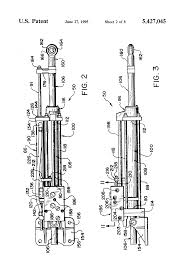 patent us5427045 steering cylinder with integral servo and valve