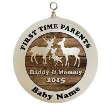 baby u0027s first christmas 6 deer family first time parents christmas