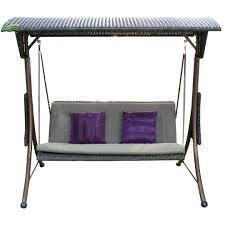 Garden Chair Seat Cushions Best Garden Patio Metal Swing Chair Seat 3 Seater Hammock Bench