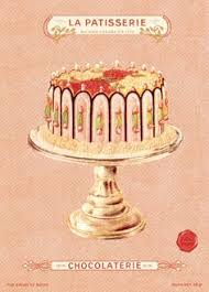 love vintage cake drawings art and food pinterest