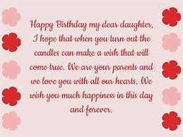 birthday wishes for daughter quotes and messages wishes lines
