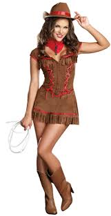 Cowgirl Halloween Costumes Adults Western Theme Western Costumes