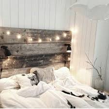 White Wooden Headboard Master Bedroom White Plank Wall Decorating Ideas Pinterest