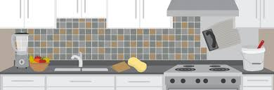 how to backsplash kitchen how to tile your kitchen backsplash in one day fix com