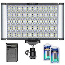 camera and lighting for youtube videos dimmable camera video light kit280 led panel cri 96 single color2